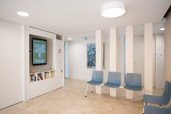 Ecran pour les salles d'attente de masseur-kinésithérapeute