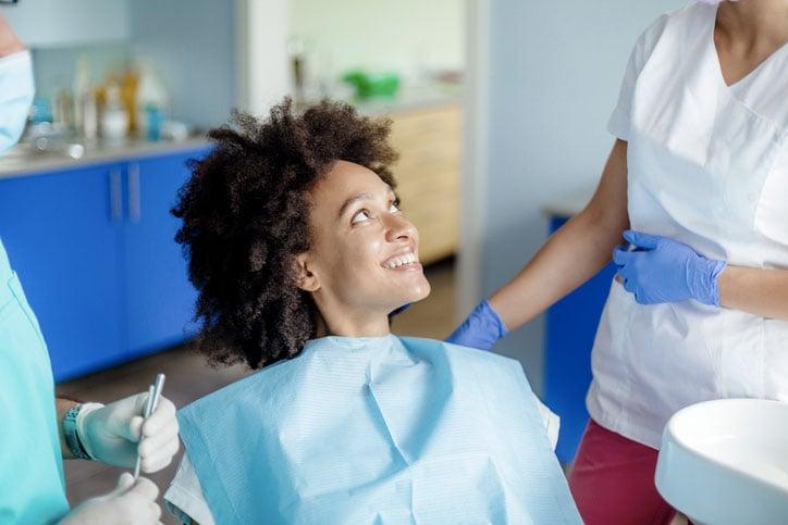 Communication patient cabinet dentaire